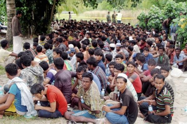 Les réfugiés rohingyas, sujets à un trafic humain en Thaïlande.