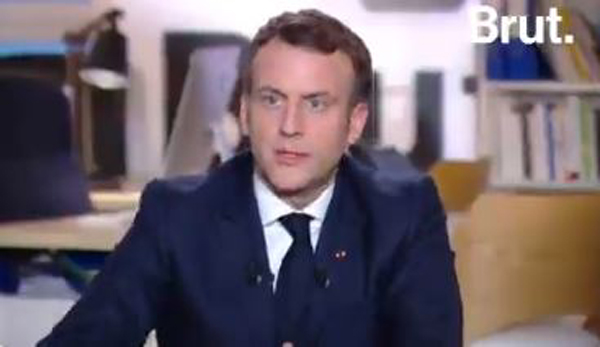France : Une interview en direct de Macron sur Brut annoncée