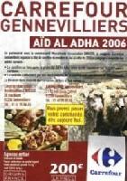 Le mouton de l'Aïd au supermarché