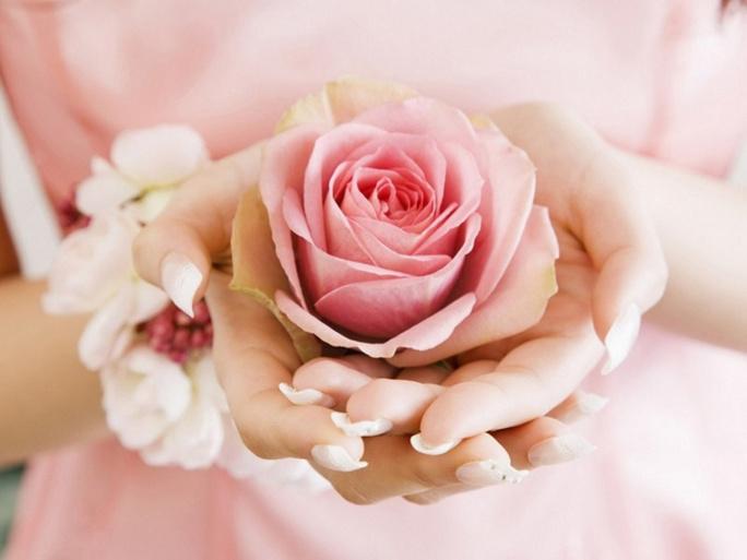 Les femmes musulmanes célèbrent la Journée de la femme en roses