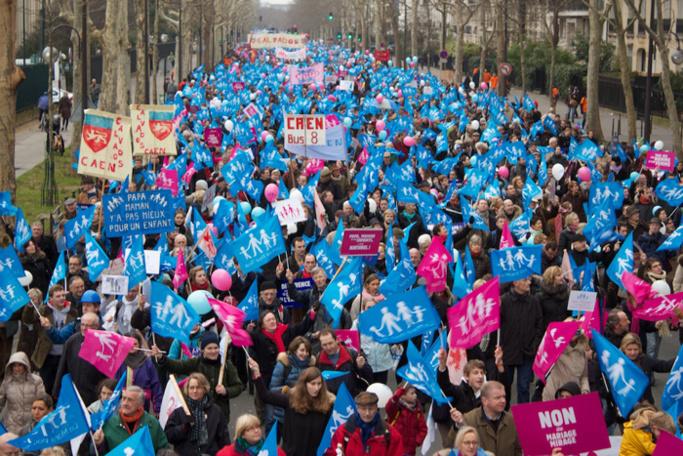 Mariage pour tous : la mobilisation continue, les musulmans à l'offensive