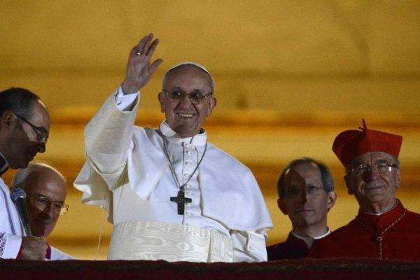 Le nouveau pape François, élu mercredi 13 mars.