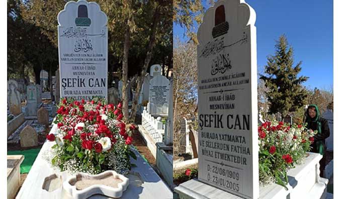 Par temps de Covid-19, un hommage discret mais fidèle à Sefik Can Dede