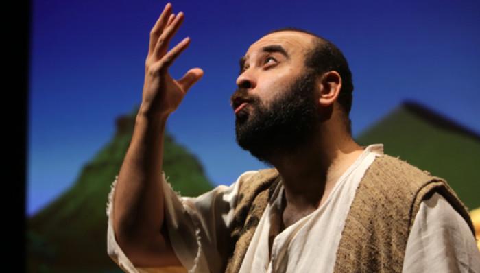 Ismaël Saidi est l'auteur du spectacle « Muhammad ». © 2020 Théâtre de Liège