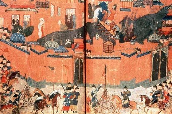 En 1258, la destruction de Bagdad par les Mongols