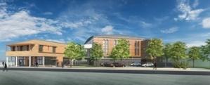 La future mosquée de Stains de l'ASDIC.