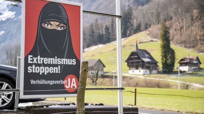 En Suisse, la campagne sur l'initiative populaire anti-niqab bat son plein
