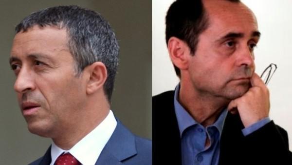 L'ancien ministre sous Chirac, Azouz Begag, en face à face avec le journaliste Robert Ménard lors de l'émission, en février, de Christophe Hondelatte sur l'islam.