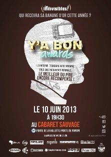 Y'a Bon Awards 2013