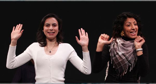 « Zone 6 – Chroniques de la vie palestinienne », une pièce de théâtre à voir à la Maison des Métallos (photo : © Nabil Boutros).