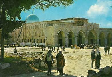 al-Aqsa, haut lieu saint de l'islam à Jérusalem