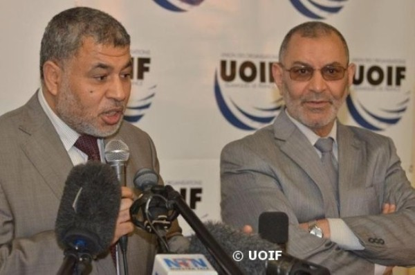 L'UOIF, présidée par Ahmed Jaballah (à g.), a annoncé sa décision de ne pas participer aux élections du CFCM, deux jours avant leur tenue le 8 juin.