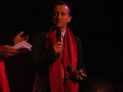 Christophe Barbier, le directeur de la rédaction de L'Express, est venu recevoir son Y'a Bon Award 2012.