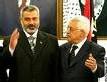 Ismaël Haniyeh et Mahmoud Abbas