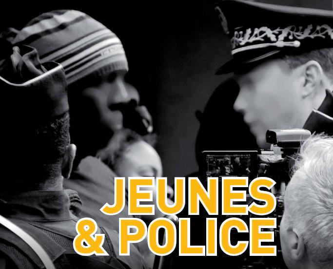 Couverture du magazine « Jeunes, police : du conflit au dialogue ? » de Multikulti Média.