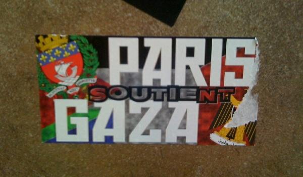 Malgré l'interdiction de manifester à Paris, le soutien à la Palestine visible
