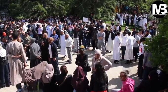 Argenteuil : rassemblement contre l'islamophobie, le 14 juin 2013 (vidéo)