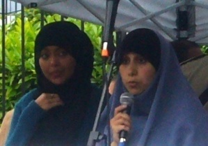Rabia (à g.) et Kahina.