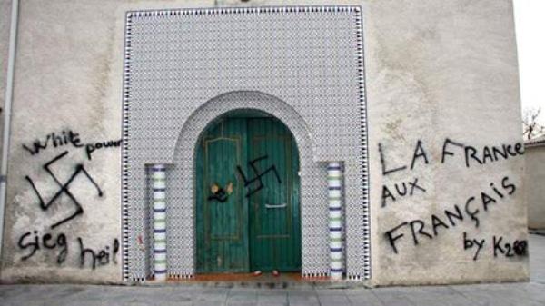 L'islamophobie en hausse de 57 % en France en 2012 (CCIF)