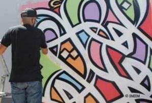 Oeuvre de l'artiste El Seed