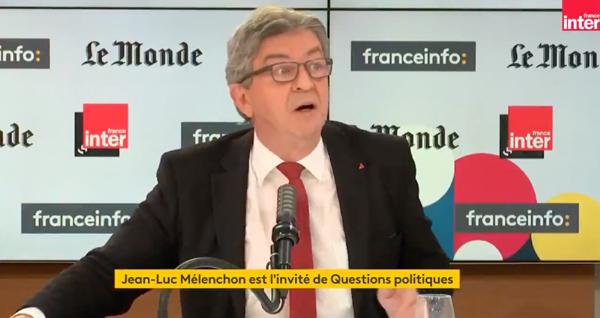 Un « grave incident » juste avant les présidentielles ? Face à la polémique, LFI défend Mélenchon