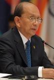 Le président birman Thein Sein