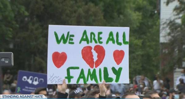 Après l'attaque de London, la solidarité affichée des Canadiens à la famille des victimes