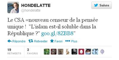 « L'islam soluble dans la République ? » Le CSA condamne le débat télé
