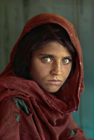 « Fille afghane » par Steve McCurry.