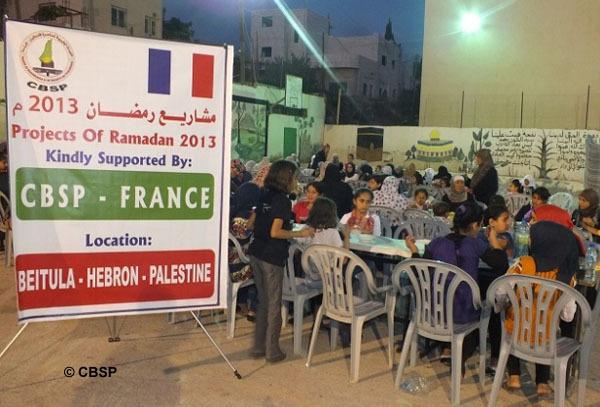 Le Comité de bienfaisance et de soutien aux Palestiniens (CBSP) lance cette année le site jedonnemazakat.org. Sa campagne Ramadan 2013 s'élève à 450 000 €.