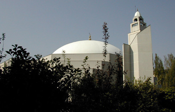 Une mosquée en France.