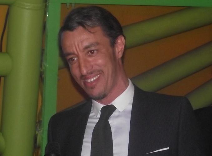 Karim Achoui, à la tête de la Ligue de défense judiciaire musulmane (LDJM) inaugurée le 16 septembre à Paris.