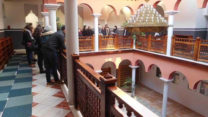 A la mosquée de Limoges, dans la Haute-Vienne.