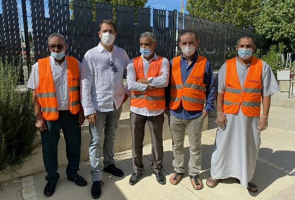 Journées du patrimoine : Castaner en visite à la mosquée de Manosque