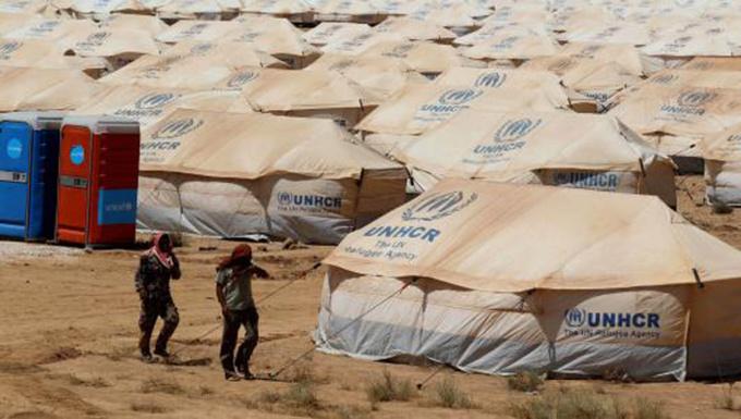 Un camp de réfugiés syriens en Jordanie.
