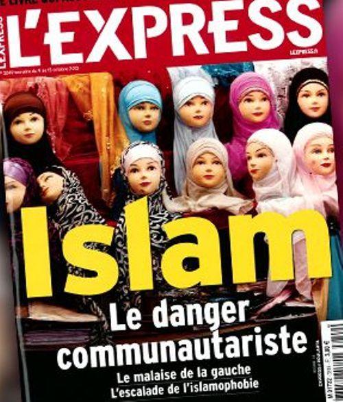 La couverture de L'Express daté de la semaine du mercredi 9 octobre.