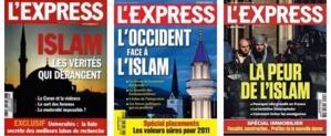 De précédentes couvertures de L'Express.