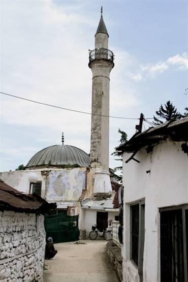 Mosquée de Struga, en Macédoine. (© 2013 Laurent Geslin)