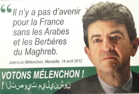 Les faux tracts du FN contre Jean-Luc Mélenchon.