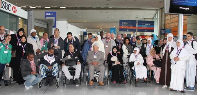 Omra : les scouts musulmans, béquilles des personnes à mobilité réduite