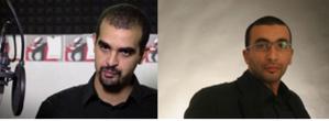 Les sociologues Abdellali Hajjat (à gauche) et Marwan Mohammed.