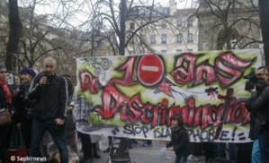Entre 150 et 200 personnes au rassemblement à Châtelet contre l'islamophobie.