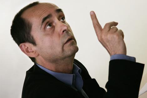Robert Ménard, candidat à la mairie de Béziers.