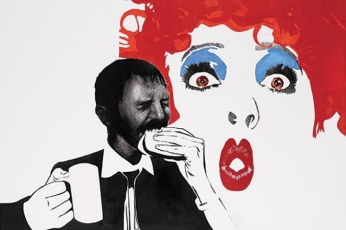 L'oeuvre « J'ai faim » de Khaled Takreti.