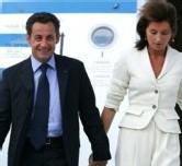 Arrivée du couple Sarkozy