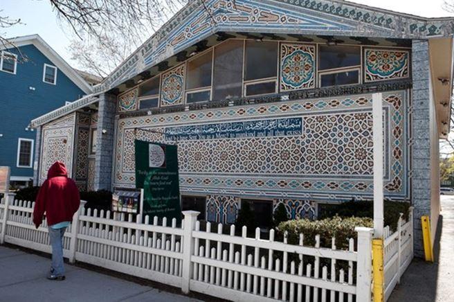 Une mosquée de Cambridge, Massachussetts (Etats-Unis), anciennement fréquentée par Tamerlan Tsarnaev.