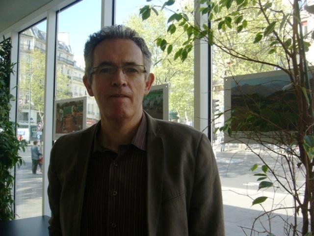 Bernard Stephan, directeur des Editions de l'Atelier et codirecteur de Témoignage chrétien.