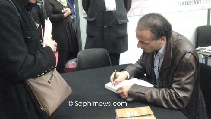 Tariq Ramadan à la 31e édition du Salon du Bourget de l'UOIF.