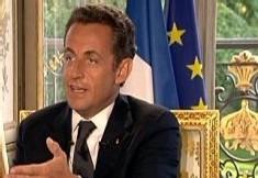 La président Nicolas Sarkozy