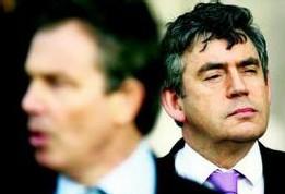 Tony Blair et Gordon Brown